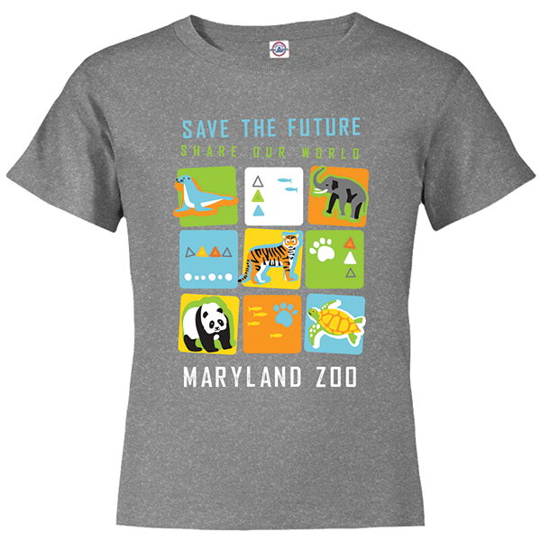 YOUTH SAVE THE FUTURE CUBE TEE