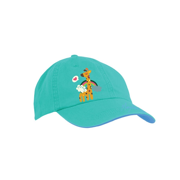 TODDLER BASEBALL CAP - CHOOSE LOVE GIRAFFE