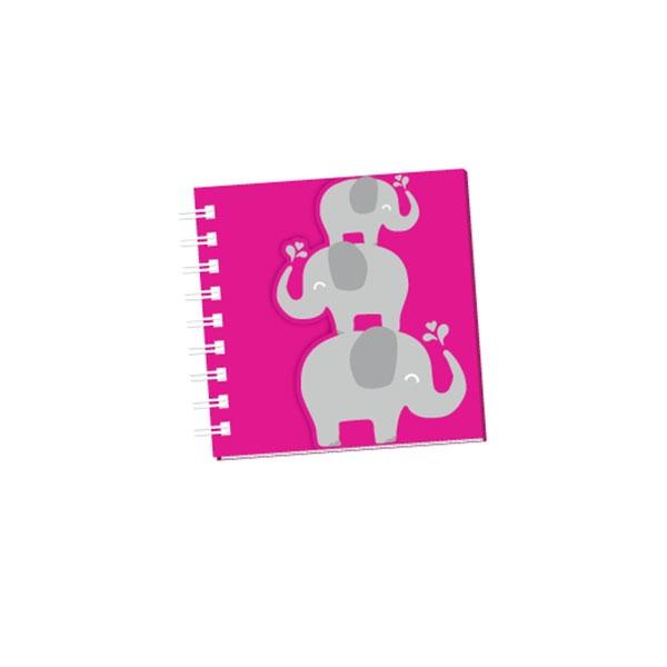 CUTESY ELEPHANT NOTEPAD