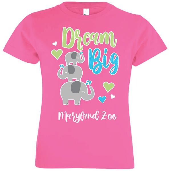 YOUTH CUTESY ELEPHANT DREAM BIG TEE