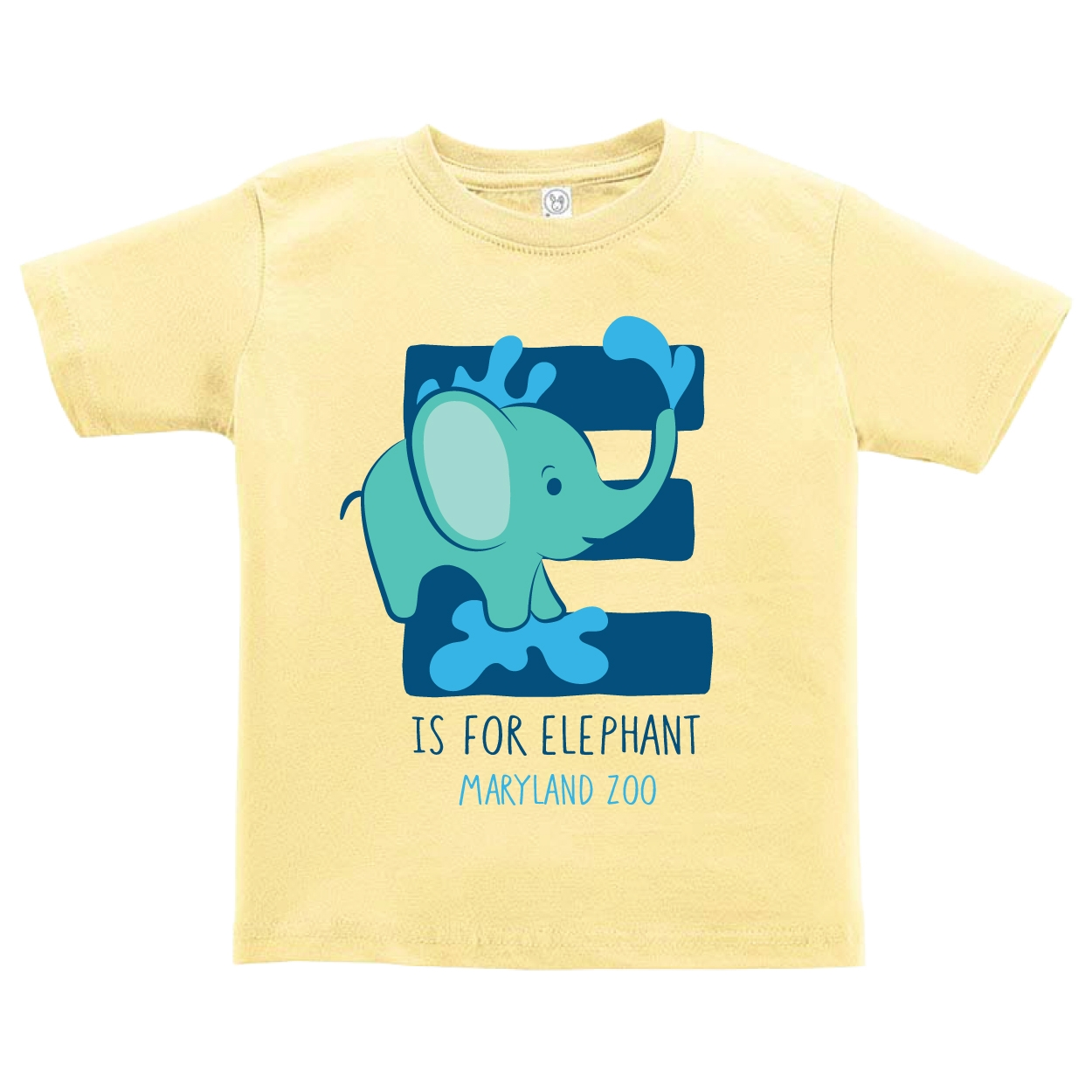 TODDLER E IS FOR ELEPHANT