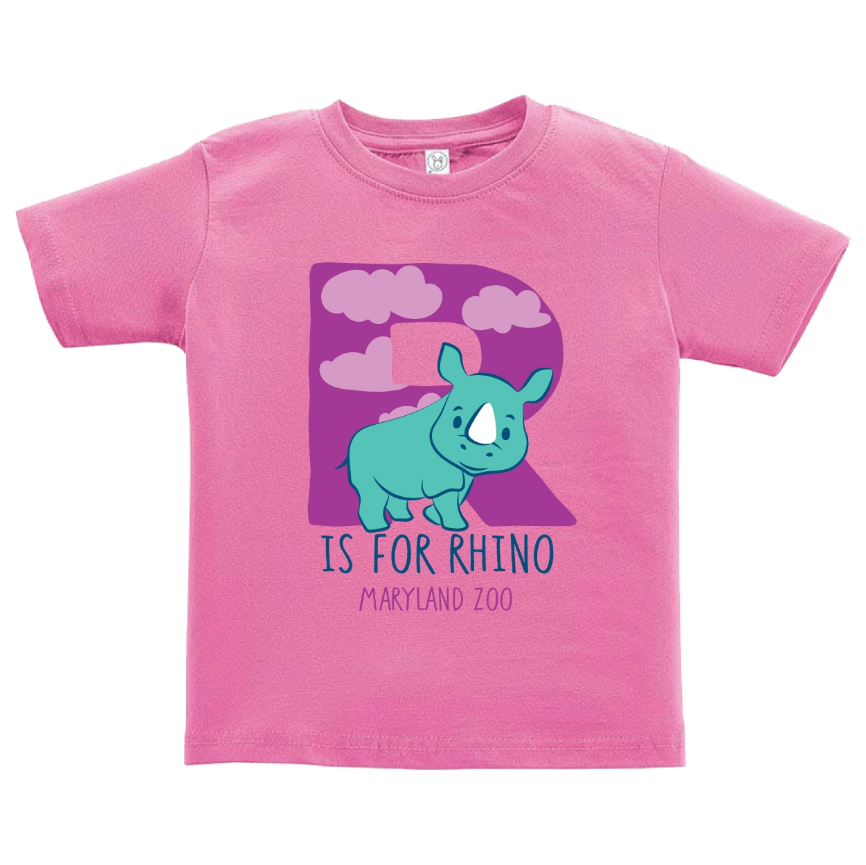 TODDLER R IS FOR RHINO